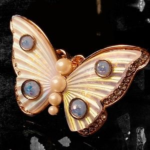 Betsey Johnson Butterfly Ring